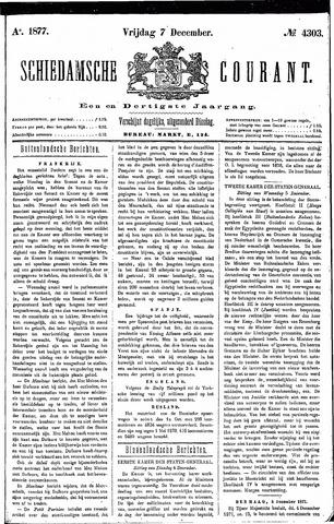 Schiedamsche Courant 1877-12-07