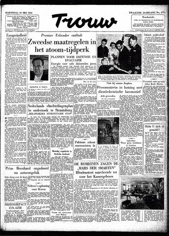 Trouw / De Rotterdammer 1954-05-19