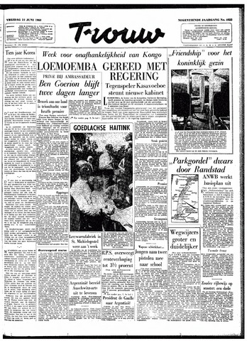 Trouw / De Rotterdammer 1960-06-24