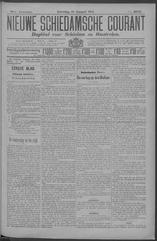 Nieuwe Schiedamsche Courant 1913-01-18