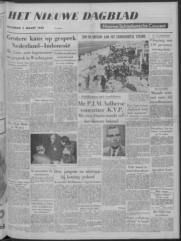 Nieuwe Schiedamsche Courant 1962-03-05
