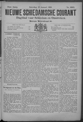 Nieuwe Schiedamsche Courant 1901-01-19