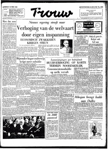 Trouw / De Rotterdammer 1959-05-26