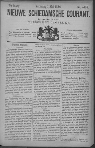 Nieuwe Schiedamsche Courant 1886-05-01