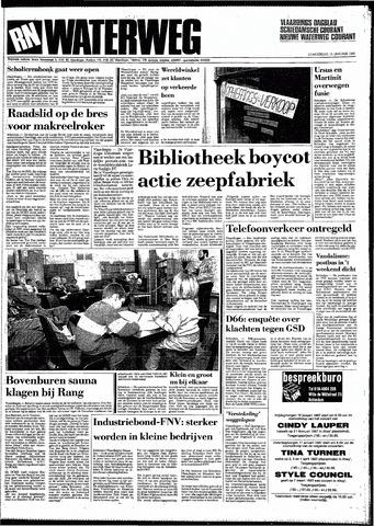 Rotterdamsch Nieuwsblad / Schiedamsche Courant / Rotterdams Dagblad / Waterweg / Algemeen Dagblad 1987-01-15