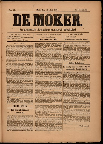 De Moker 1901-05-11