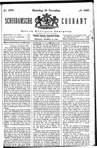 Schiedamsche Courant 1879-11-24