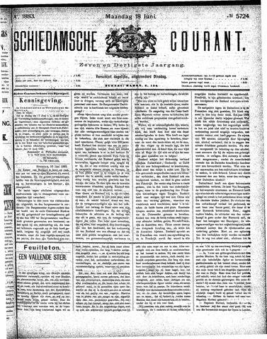 Schiedamsche Courant 1883-06-18
