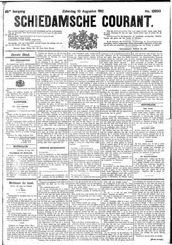 Schiedamsche Courant 1912-08-10