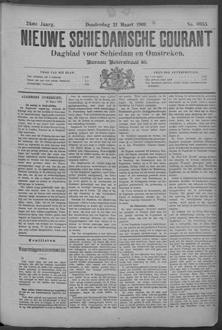 Nieuwe Schiedamsche Courant 1901-03-21