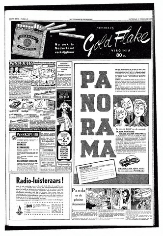 Rotterdamsch Nieuwsblad / Schiedamsche Courant / Rotterdams Dagblad / Waterweg / Algemeen Dagblad 1953-02-21