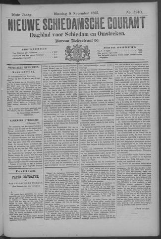 Nieuwe Schiedamsche Courant 1897-11-09