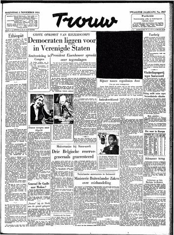 Trouw / De Rotterdammer 1954-11-03