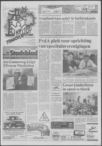 Het Nieuwe Stadsblad 1991-10-11
