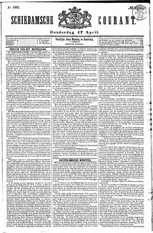 Schiedamsche Courant 1862-04-17