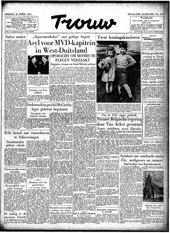 Trouw / De Rotterdammer 1954-04-23