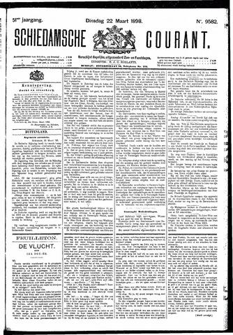 Schiedamsche Courant 1898-03-22