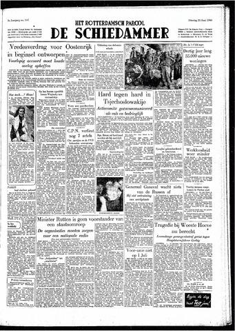 Rotterdamsch Parool / De Schiedammer 1949-06-21