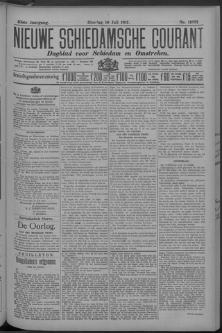 Nieuwe Schiedamsche Courant 1917-07-10