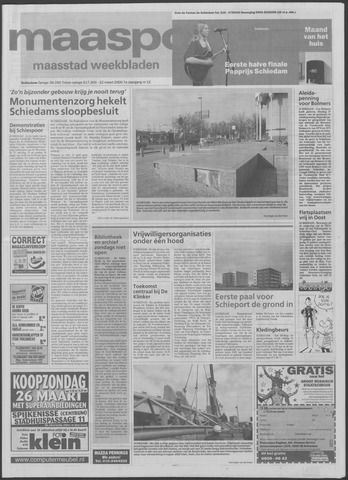 Maaspost / Maasstad / Maasstad Pers 2000-03-22