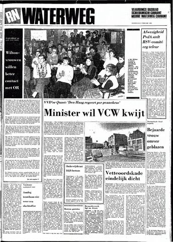 Rotterdamsch Nieuwsblad / Schiedamsche Courant / Rotterdams Dagblad / Waterweg / Algemeen Dagblad 1983-02-02
