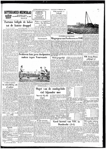 Rotterdamsch Nieuwsblad / Schiedamsche Courant / Rotterdams Dagblad / Waterweg / Algemeen Dagblad 1964-02-10