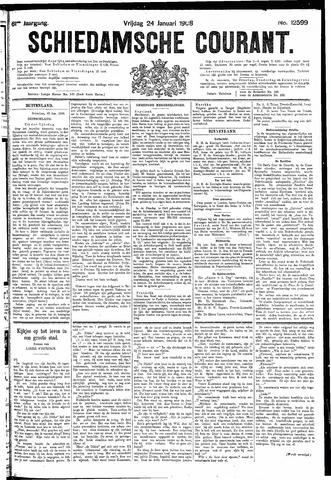 Schiedamsche Courant 1908-01-24