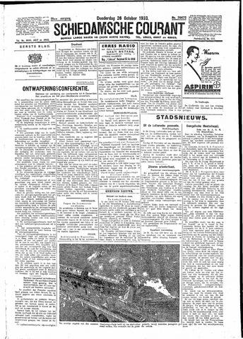 Schiedamsche Courant 1933-10-26