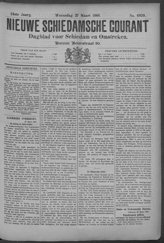 Nieuwe Schiedamsche Courant 1901-03-27