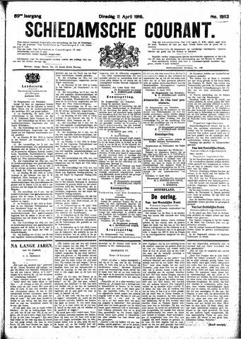 Schiedamsche Courant 1916-04-11
