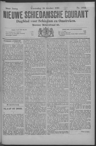 Nieuwe Schiedamsche Courant 1897-10-20