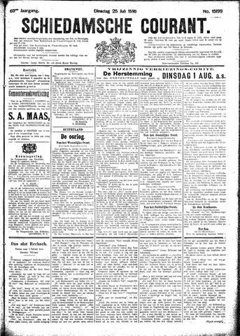Schiedamsche Courant 1916-07-25