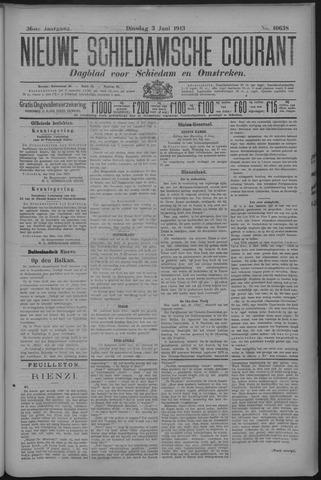 Nieuwe Schiedamsche Courant 1913-06-03