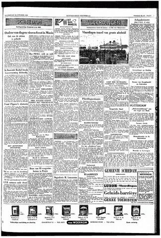 Rotterdamsch Nieuwsblad / Schiedamsche Courant / Rotterdams Dagblad / Waterweg / Algemeen Dagblad 1953-10-22