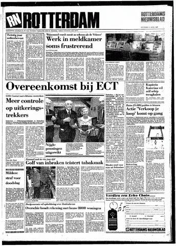 Rotterdamsch Nieuwsblad / Schiedamsche Courant / Rotterdams Dagblad / Waterweg / Algemeen Dagblad 1987-04-11