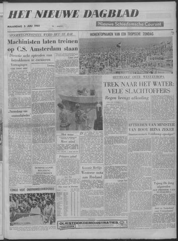 Nieuwe Schiedamsche Courant 1961-07-03