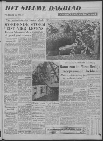 Nieuwe Schiedamsche Courant 1961-07-13
