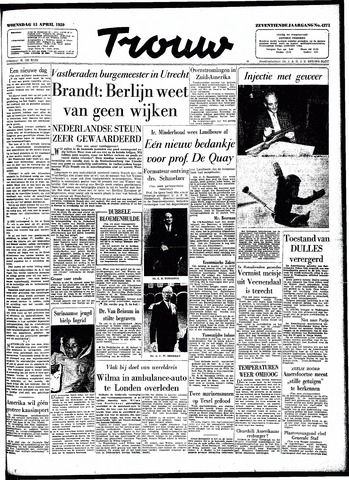Trouw / De Rotterdammer 1959-04-15