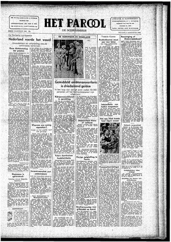 Rotterdamsch Parool / De Schiedammer 1946-08-02