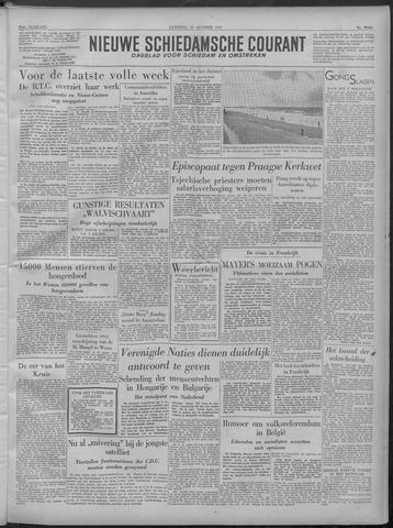 Nieuwe Schiedamsche Courant 1949-10-22