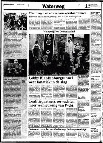 Rotterdamsch Nieuwsblad / Schiedamsche Courant / Rotterdams Dagblad / Waterweg / Algemeen Dagblad 1991-07-17