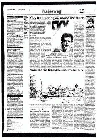 Rotterdamsch Nieuwsblad / Schiedamsche Courant / Rotterdams Dagblad / Waterweg / Algemeen Dagblad 1993-05-11