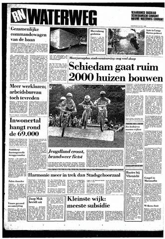 Rotterdamsch Nieuwsblad / Schiedamsche Courant / Rotterdams Dagblad / Waterweg / Algemeen Dagblad 1985-07-22