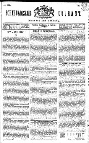 Schiedamsche Courant 1866-01-22