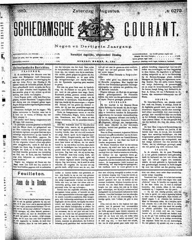 Schiedamsche Courant 1885-08-01