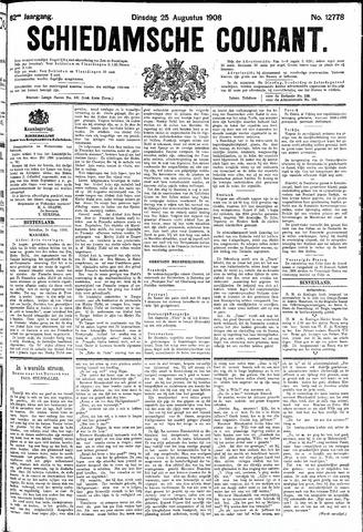 Schiedamsche Courant 1908-08-25