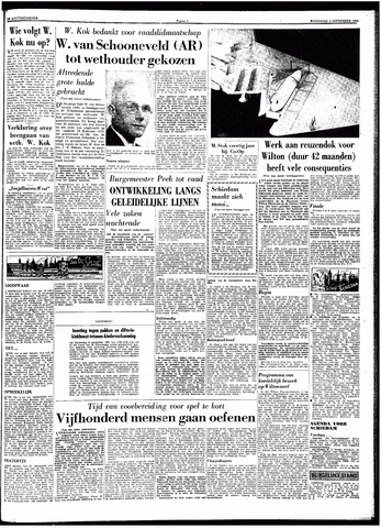 Trouw / De Rotterdammer 1962-09-05