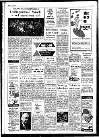 Rotterdamsch Parool / De Schiedammer 1961-07-07