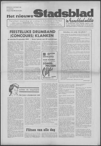 Het Nieuwe Stadsblad 1963-09-04