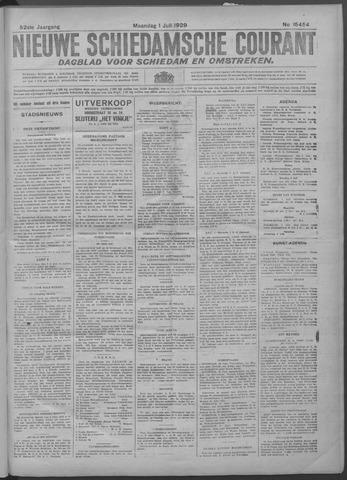 Nieuwe Schiedamsche Courant 1929-07-01